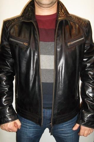 "Мужская кожаная куртка ""Дайтона-Арнольд"""