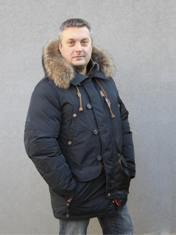 "Мужской пуховик Визани ""10517Р"""